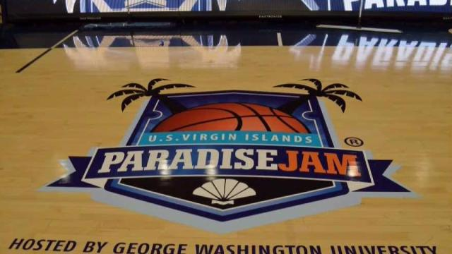 GW Womens Basketball Hosts Paradise Jam for Hurricane Ravaged Virgin Islands