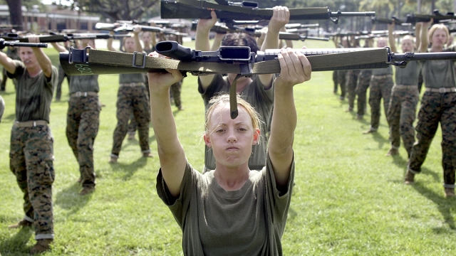 Military Studies 'Hyperfit' Women Who Pass Grueling Courses