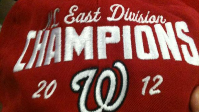 Nationals Clinch National League East Title