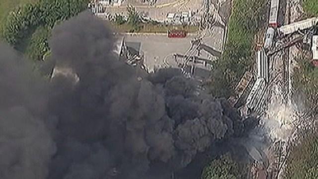 Train Derailment Investigation Continues   NBC4 Washington