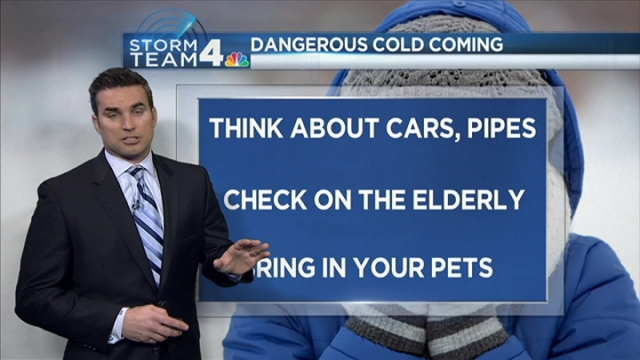 Storm Team4 Chief Meteorologist Doug Kammerer has the forecast for Feb. 11, 2016.
