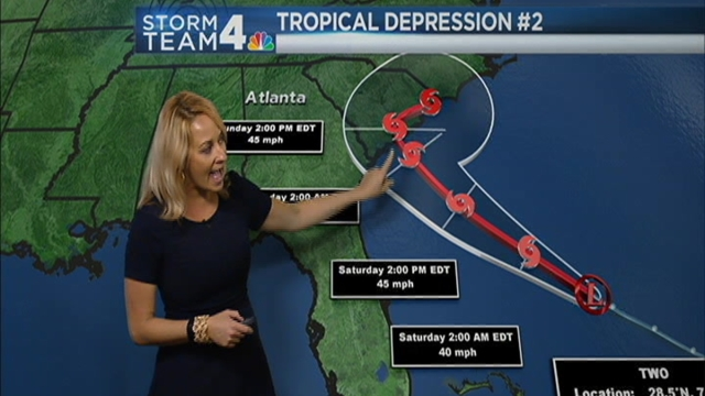 Storm Team4 Meteorologist Lauryn Ricketts has the forecast for May 27, 2016.