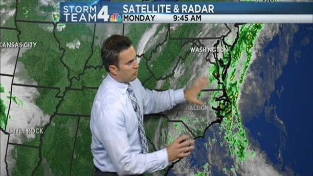 The weather is going to be a little wet over the next few days, according to Storm Team4's Chief Meteorologist Doug Kammerer.