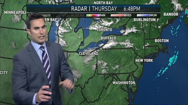Storm Team4 meteorologist Doug Kammerer tells what to expect as chilly weather moves into the D.C. area.