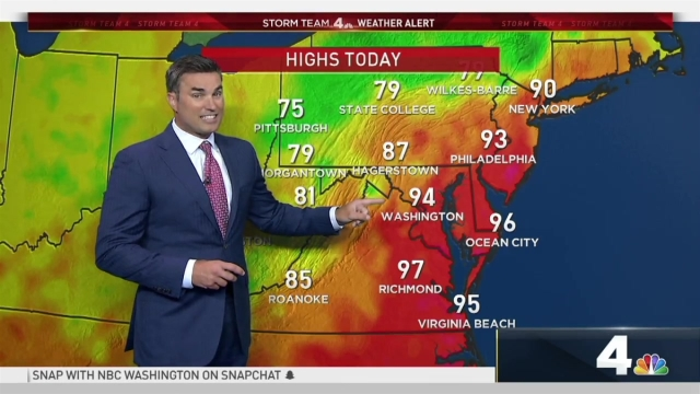 <p>Storm Team4 Chief Meteorologist Doug Kammerer is tracking storms and rain Monday night.</p>