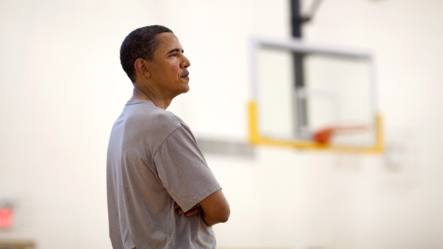 Obama Makes His NCAA Picks
