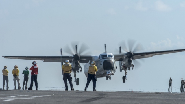 US Navy Plane With 11 Aboard Crashes Into Pacific; 3 Missing
