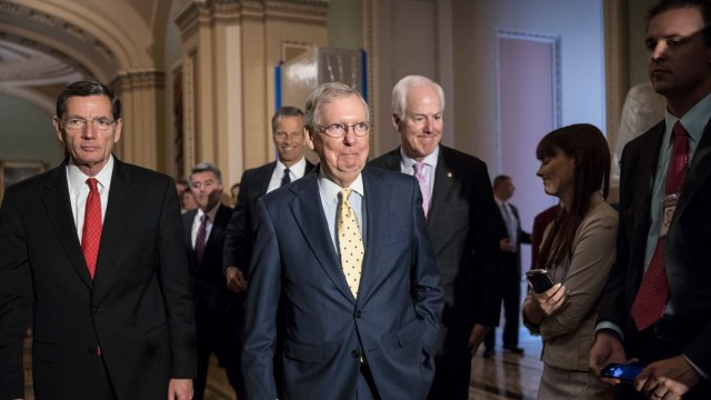 Senate GOP Releases 'Obamacare' Overhaul, But Not All Aboard