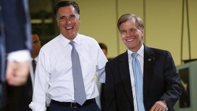 McDonnell Joins Mitt Romney's Va. Bus Tour