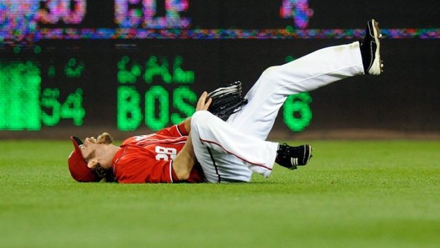 Werth Breaks Wrist, Adding to Nats' Woes