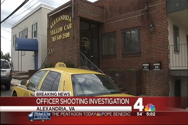 Alexandria Police Officer Shot During Traffic Stop | NBC4