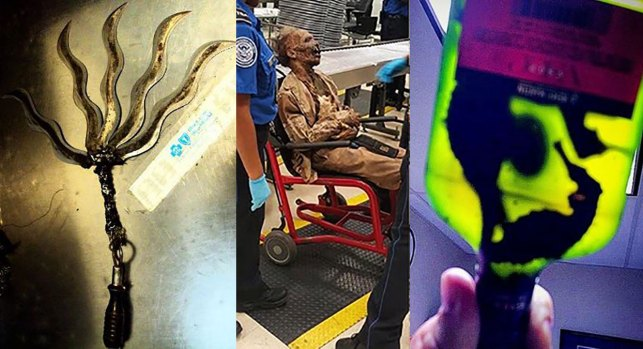 [NATL-LA] TSA Reveals Its 'Top 10 Most Unusual Finds' of 2016