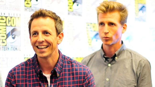 Meyers Talks Brother's Costume at Last Year's Comic-Con