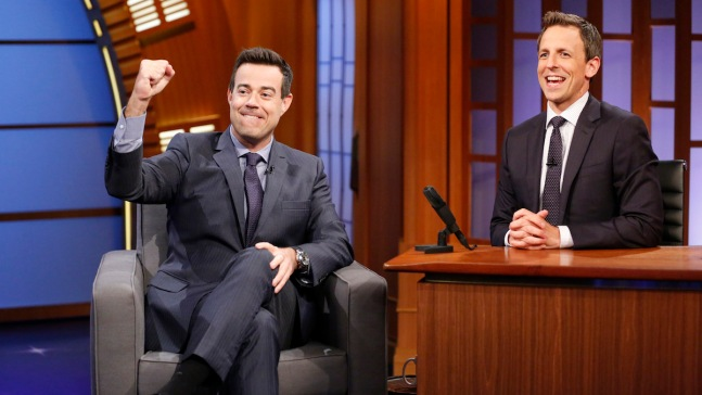 "Daly Talks About His Many Gigs on ""Late Night"""