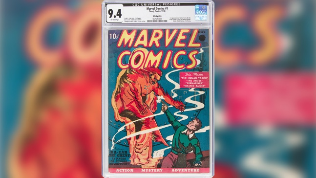 First Marvel Comics Issue Sells in TX for a Record $1.26M
