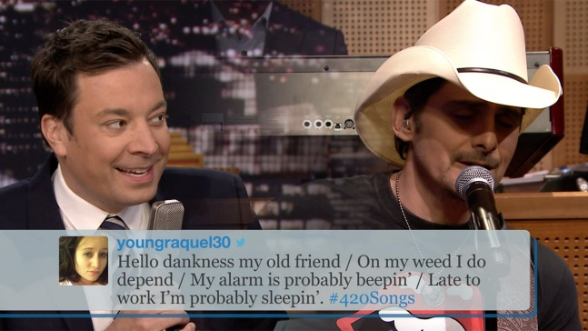 'Tonight': #420Songs Hashtag With Brad Paisley