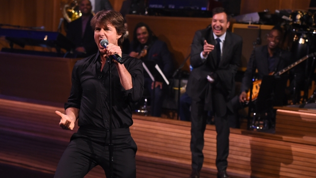Cruise Has Epic Lip Sync Battle With Fallon