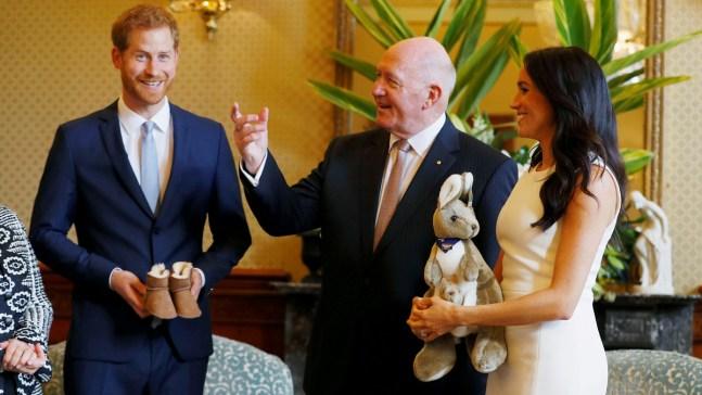 Pregnant Duchess of Sussex Starts Official Australian Tour