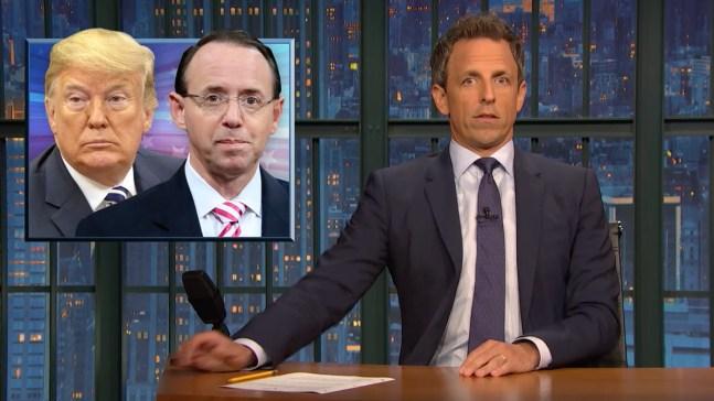 'Late Night': A Closer Look at Rosenstein Chaos, Kavanaugh Accuser