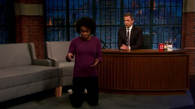 'Late Night' Writer Talks Recent Athlete Protests