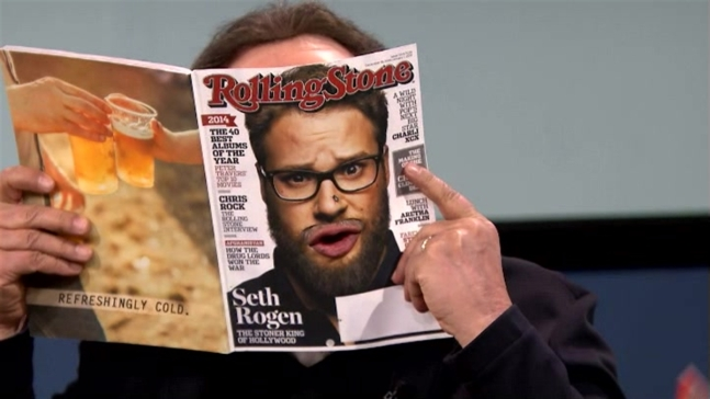 'Tonight Show':Magazine Cover Talk With Billy Crystal