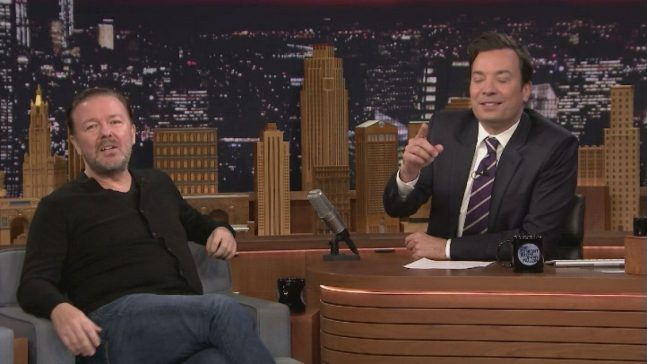 'Tonight': Random Questions With Ricky Gervais