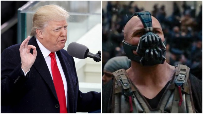 'Dark Knight' Fans Say Trump Channeled Bane During Speech