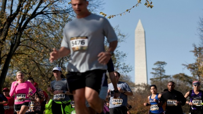 Active Duty, Reserves Can Receive Discounted Marine Corps Marathon Entry