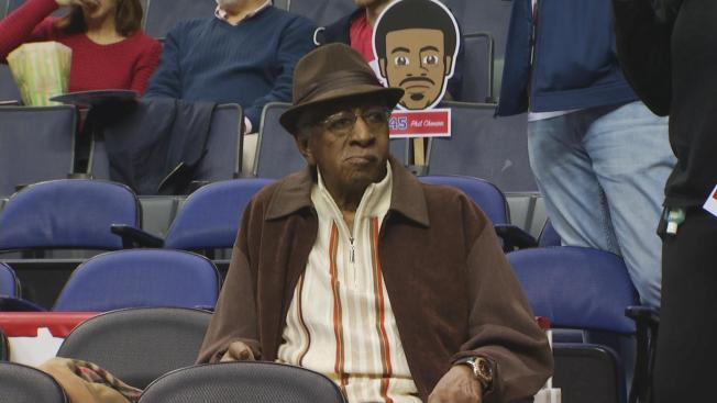 96-Year-Old Lorenzo Crowe May Be DC's Biggest Sports Fan