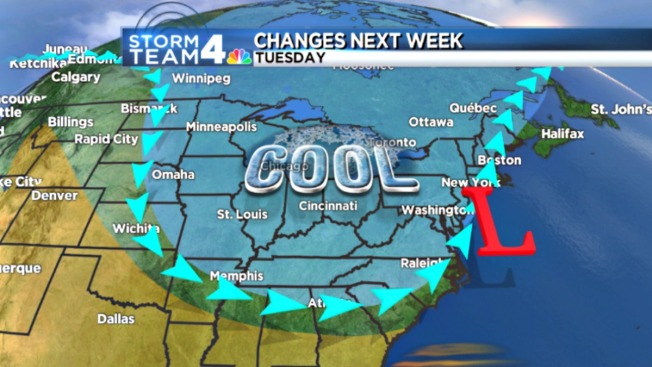The Return of the Polar Vortex: Cooler Temps on the Way