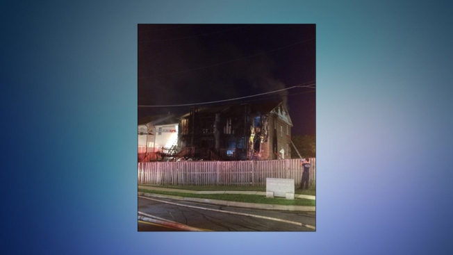 Twelve Displaced in Clinton, Md. Fire