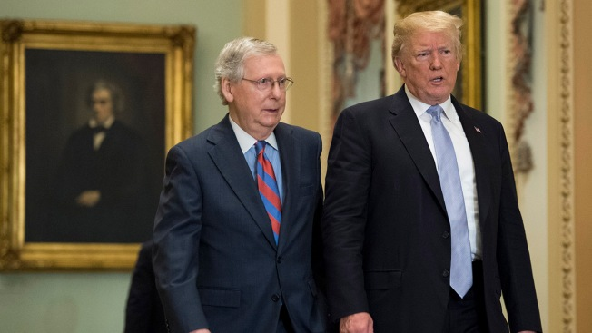 Mitch McConnell Withdraws Trump Judicial Pick Minutes Before Vote