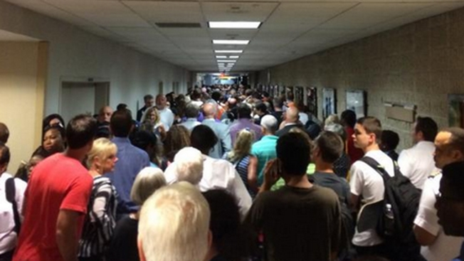 Concourse Trains at Atlanta Airport Not Working