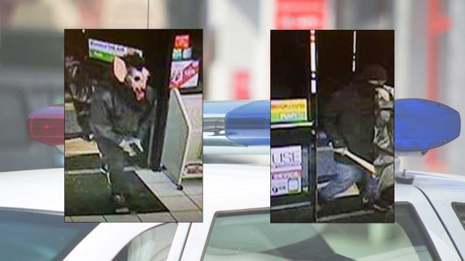 Man Donning Werewolf Mask Wanted in Md. Robberies
