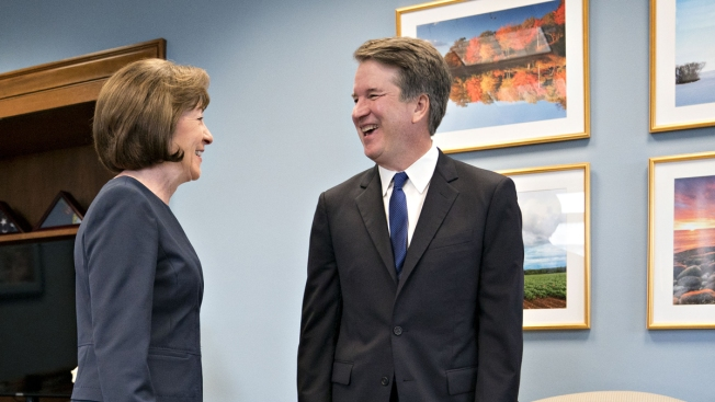 In Kavanaugh Fight, Pressure Campaign Against Collins Includes Abusive Calls