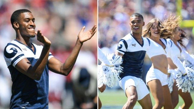 Meet the LA Rams Male Cheerleaders Set to Make Super Bowl History