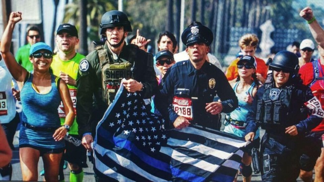 LAPD Officers to Run 420 Miles for Colleagues Killed