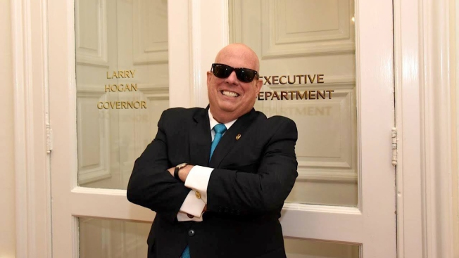 'Bald Is Beautiful': Maryland Gov. Larry Hogan Shares Photo of Bald Head After Chemo Treatments