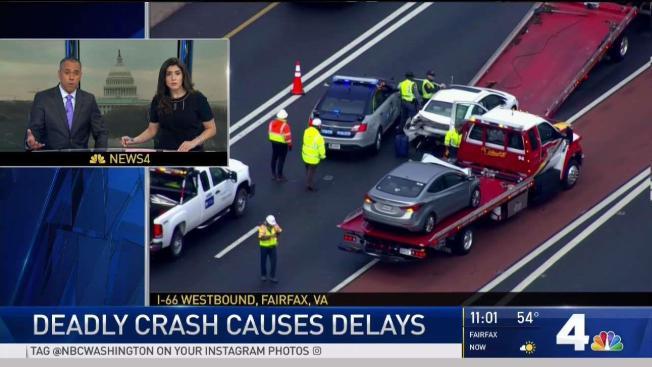 1 Dead in I-66 Crash in Fairfax County - NBC4 Washington