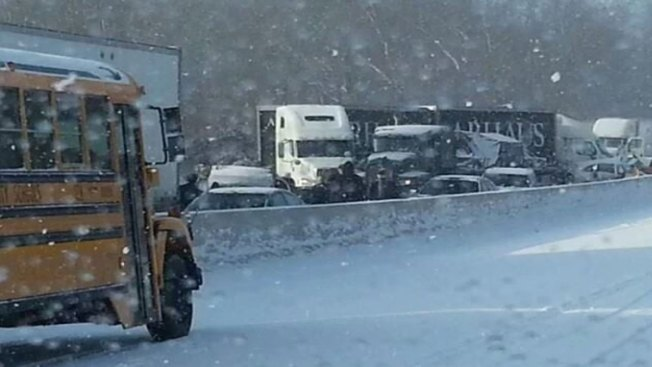 Police Confirm Two Dead in Crashes Involving 40 Vehicles on Interstate 81 in West Virginia
