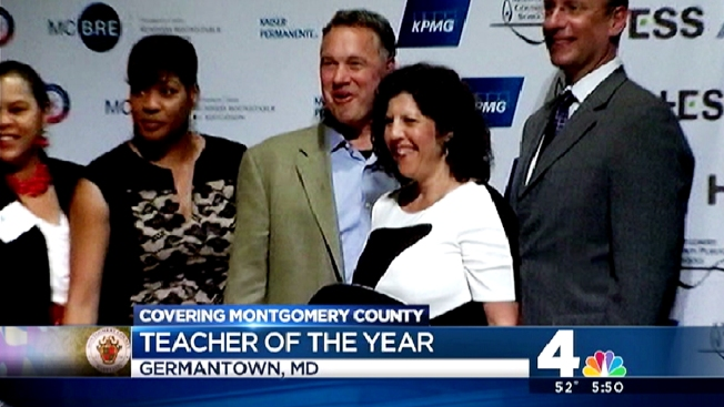 English Teacher Named Mont. Co's 'Teacher of the Year'