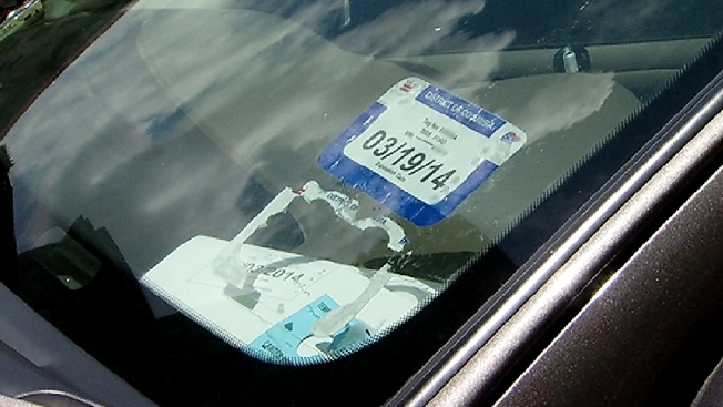 D.C. Temporarily Suspending Tickets for Drivers With Unglued Registration Stickers
