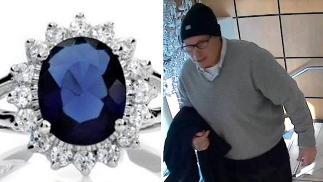 """Man Steals $21,000 """"Princess Diana""""-Style Ring From Annapolis Jewelry Store, Police Say"""
