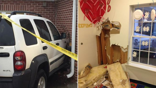 SUV Crashes Into Wall of Maryland Daycare; No Children Hurt