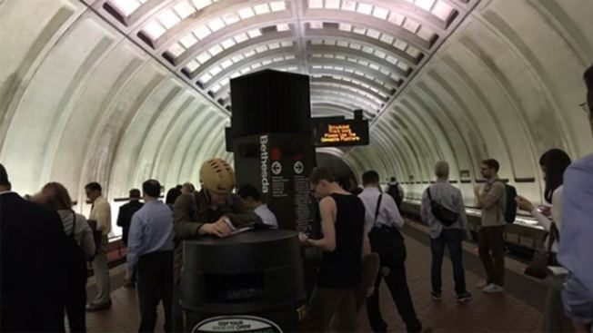 Major Red Line Delays Due to Single-Tracking; Speed Restrictions Around McPherson Square