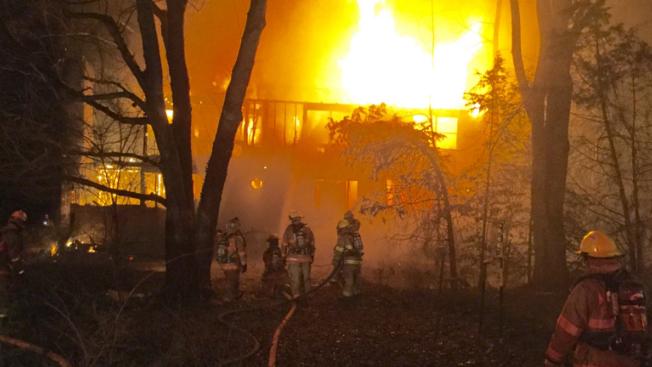 1 missing after Rockville blaze destroys home