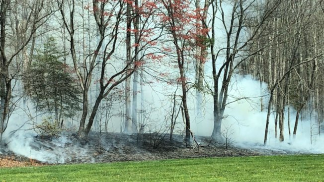 BW Parkway Reopened After Firefighters From 3 Counties Battle Large Brush Fire