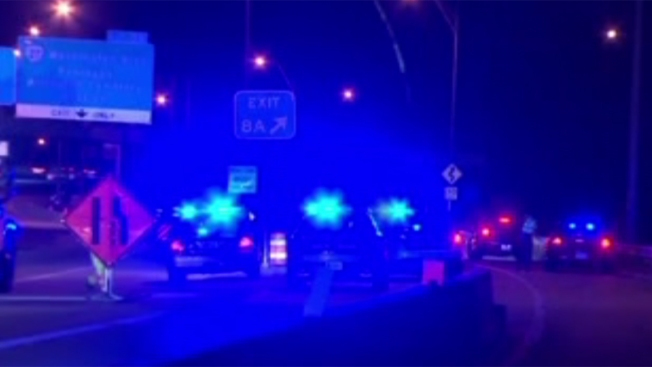 1 Killed in Motorcycle Crash on Interstate 395