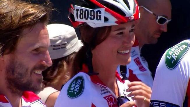 Pippa Middleton Pedals Her Way to Annapolis