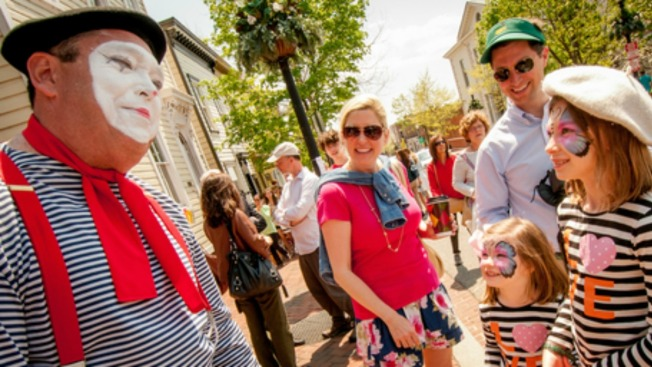 Georgetown Hosts Outdoor French Market April 24-25